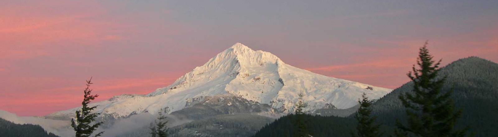 Mt Hood, Sunset