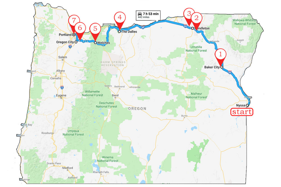 Discover The Oregon Trail Itinerary Oregon S Mt Hood Territory