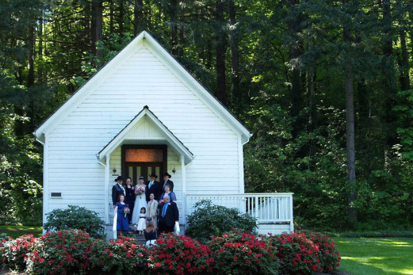 Pioneer Church at Baker Cabin, Wedding