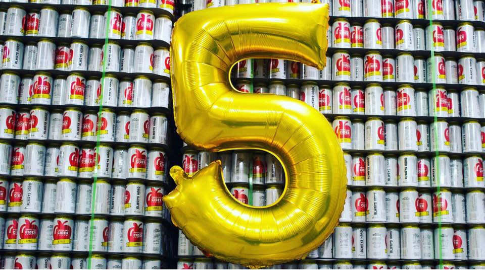 Portland Cider Co 5 Year Anniversary Celebration Oregon