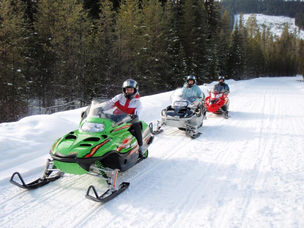 Mt. Hood Adventure Snowmobile