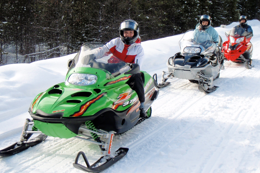 Mt. Hood Adventure Snowmobile