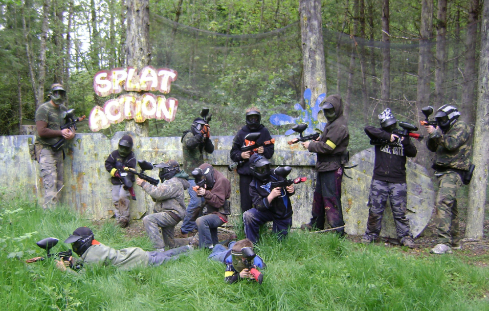 Splat Action paintball
