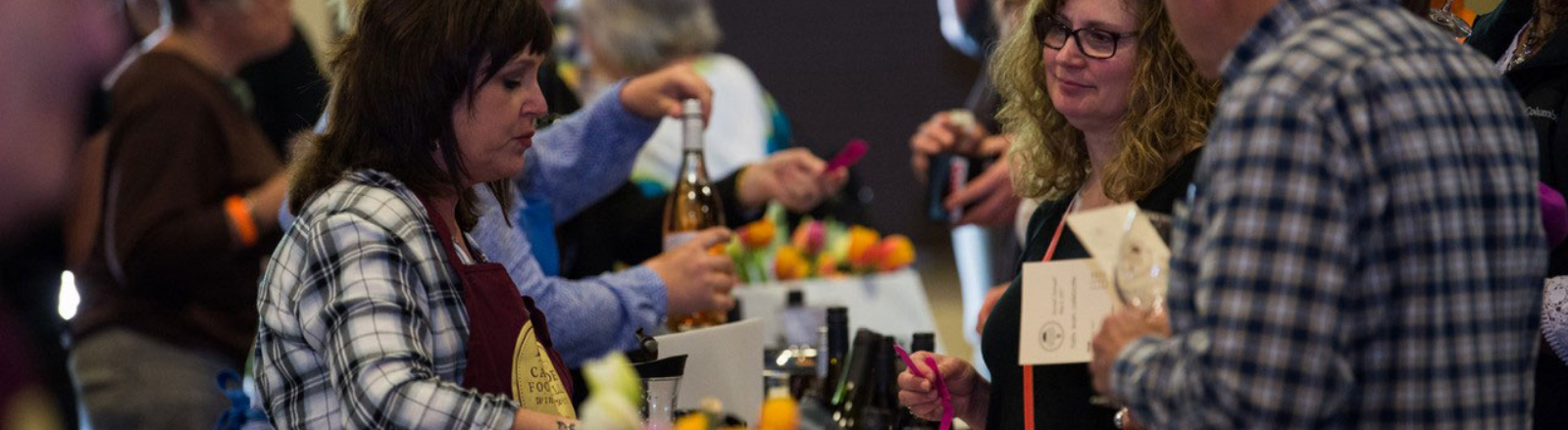 Wineries in Oregon's Mt. Hood Territory pour their wines for guests at Taste. Learn. Celebrate. event at St Josef's Winery