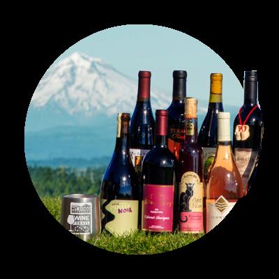 Oregon wines and Mt. Hood Oregon Wine Month